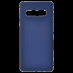 Coque TPU Soft Touch Bleu pour Samsung S10 Plus