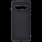 Coque TPU Soft Touch Noir pour Samsung S10 Plus