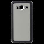 Coque Polycarbonate Noir et plaque Alu pour Samsung J3 2016