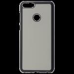 Coque Rigide Noir et plaque Alu pour Huawei P Smart
