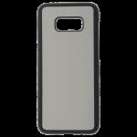 Coque Souple Noir et plaque Alu pour Samsung S8 Plus