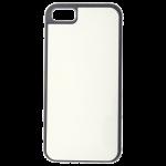 Coque Souple Noir et plaque Alu pour Apple iPhone 5C