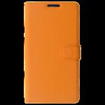 Etui Folio Class Orange pour Samsung S6 Edge+