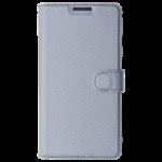 Etui Folio Class Argent pour Samsung A3 2016