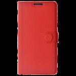 Etui Folio Class Rouge pour Samsung A3 2016