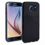 Coque TPU Glossy Noir pour Samsung S6