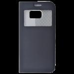 Étui Folio Fenêtre Noir pour Samsung S8 Plus