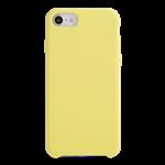 Coque Silicone Liquide Jaune pour Apple iPhone 7/8 Plus