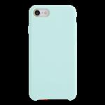 Coque Silicone Liquide Bleu Turquoise pour Apple iPhone 7/8 Plus