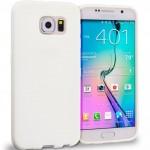 Coque TPU Glossy Blanc pour Samsung S6 Edge