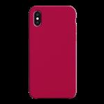 Coque Silicone Liquide Bordeaux pour Apple iPhone XS Max