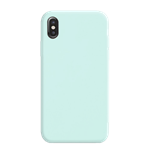 Coque Silicone Liquide Bleu Turquoise pour Apple iPhone XR