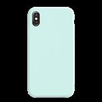 Coque Silicone Liquide Bleu Turquoise pour Apple iPhone XR