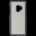 Coque Rigide Noir et plaque Alu pour Samsung J6 2018 PLUS