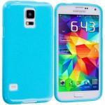 Coque TPU Glossy Bleu pour Samsung S6 Edge