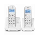 Téléphone Dect Jaspe Duo Répondeur TH550D2RW Thomson Blanc
