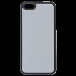 Coque Rigide Noir et Plaque Alu pour Apple iPhone 6/6S