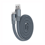 Cable USB Type C Devia Ring Y1 Gris