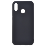 Coque TPU Soft Touch Noir pour Huawei P30 Lite