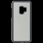 Coque Rigide Noir et Plaque Alu pour Personnalisation Samsung S9
