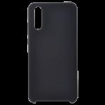 Coque Silicone Liquide Noir pour Samsung A7 2018