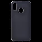Coque Silicone Liquide Noir pour Huawei P Smart 2019