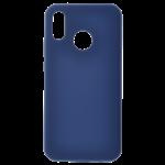 Coque Silicone Liquide Bleu pour Huawei P Smart 2019