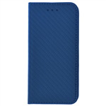 Étui Folio Carbon Bleu pour Apple iPhone 5/5S/SE