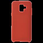 Coque Silicone Liquide Rouge pour Samsung J4 Plus 2018