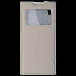 Étui Folio Fenêtre Or pour Sony XZ1