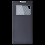 Étui Folio Fenêtre Noir pour Sony XA2
