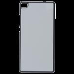 Coque Souple Noir et plaque Alu pour Huawei P8