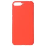 Coque TPU Soft Touch Rouge pour Huawei Y7 2018