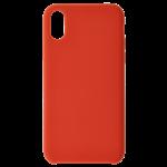 Coque Silicone Liquide Rouge pour Samsung A7 2018
