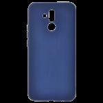 Coque Silicone Liquide Bleu pour Huawei Mate 20 Lite