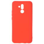 Coque Silicone Liquide Rouge pour Huawei Mate 20 Lite