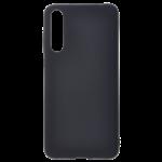 Coque TPU Soft Touch Noir Samsung A70
