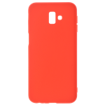 Coque TPU Soft Touch Rouge Samsung J6 2018