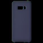 Coque Silicone Liquide Bleu pour Samsung S10 Plus