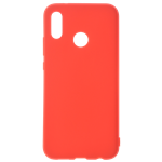 Coque TPU Soft Touch Rouge pour Huawei P30 Lite