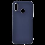 Coque TPU Soft Touch Bleu pour Huawei P30 Lite