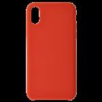 Coque Silicone Liquide Rouge pour Samsung A40
