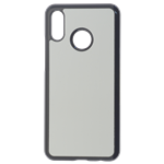 Coque Rigide Noir et plaque Alu pour Huawei P Smart 2019