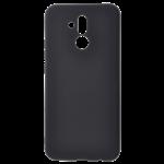 Coque Silicone Liquide Noir pour Huawei Mate 20 Lite