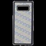 Coque Souple Noir et plaque Alu pour Samsung S10 E