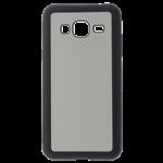 Coque Rigide Transparent et plaque Alu pour Samsung J1 2016