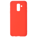Coque TPU Soft Touch Rouge pour Samsung S9 Plus