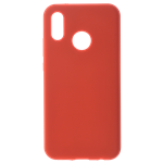 Coque Silicone Liquide Rouge pour Huawei P30 Lite