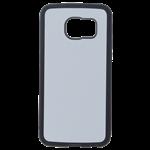 Coque Rigide Noir et plaque Alu pour Samsung S6 Edge