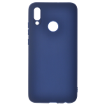 Coque TPU Soft Touch Bleu pour Huawei Y6 2019 / Honor 8A